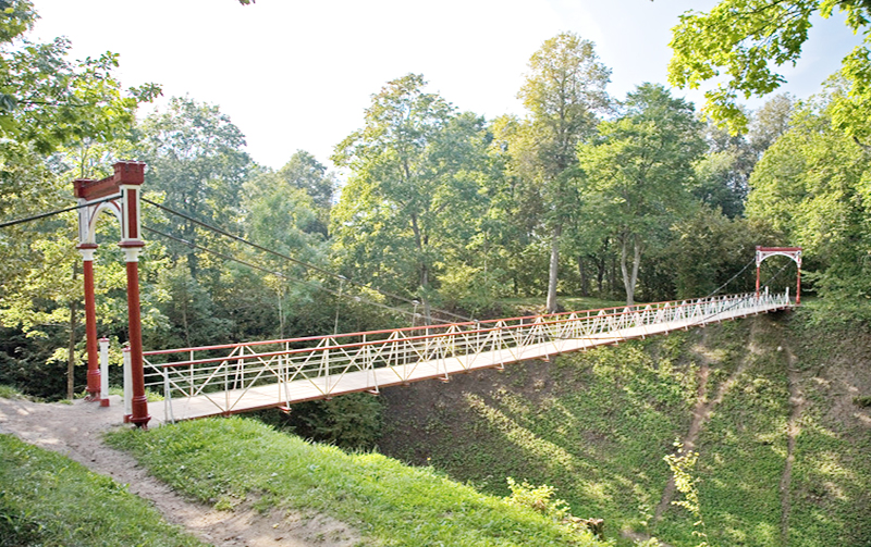 Suspension Bridge, Viljandi, Estonia