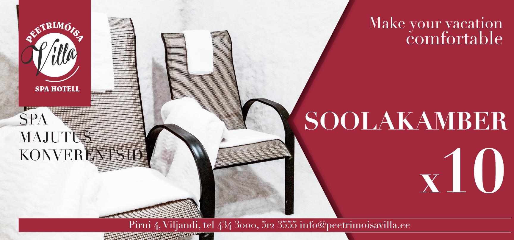 8258813b983 UUDISED ⋆ SPA Hotell Peetrimõisa Villa